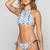 Marley Bikini Top in Shibori