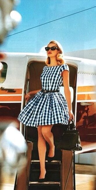 checkers dress dress retro gingham fit and flare fit and flare dress lauren conrad gorgeous gorgeous dress girly flare