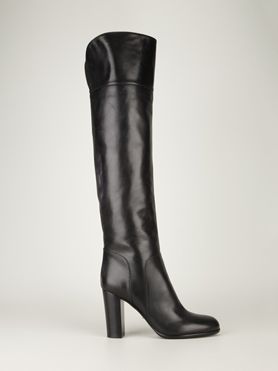 Sergio Rossi Knee High Boot - Gente Roma - Farfetch.com