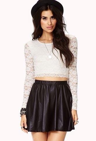 top white lace top lace top white top lace shirt style skirt