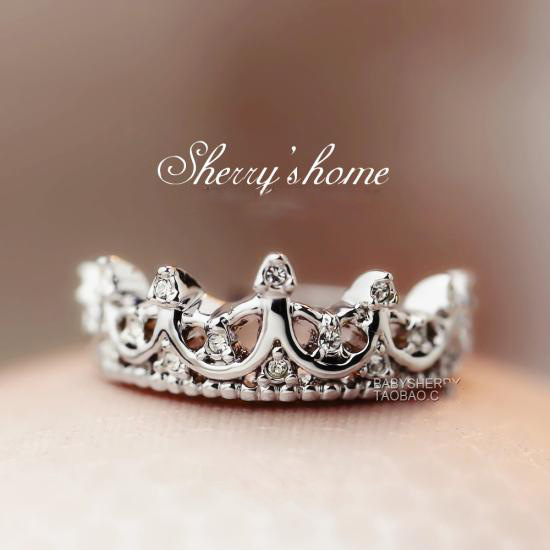 pandora princess crown ring quotes