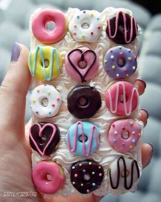 phone cover donut food clothing 3d