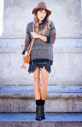the marcy stop blogger socks bag jewels