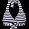 Triangel-top aus streifen-jacquard kaufen | s.oliver shop