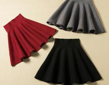 Lovely mini skirt for autumn or win..