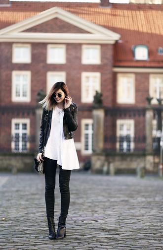 bekleidet blogger jacket top shoes bag
