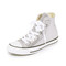 Converse chuck taylor all star high top sneakers - gunmetal/white/black