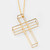 Cage Cross Necklace | Vera-Xane
