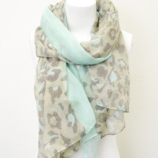 Valentino Inspired Leopard Scarf