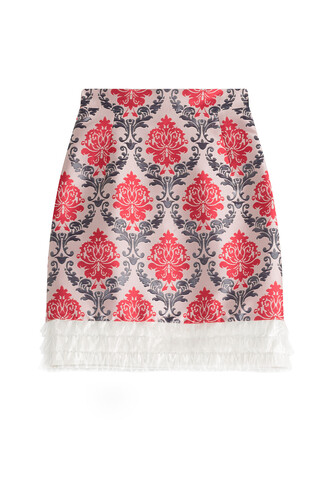skirt jacquard multicolor