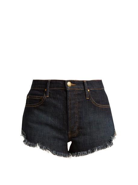 The Great shorts denim shorts denim