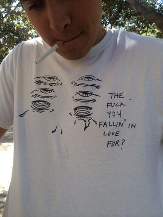 shirt grunge white mens t-shirt white t-shirt