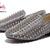 Christian Louboutin  sheepskin spike shoes gray  : CHRISTIAN LOUBOUTIN MENS SHOES
