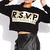 Glam Statement Cropped Sweatshirt | FOREVER21 - 2031558275