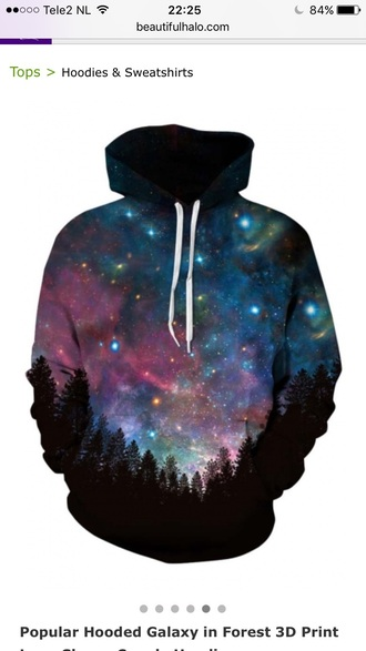 sweater black fashion style long sleeves galaxy print casual fall outfits beautifulhalo