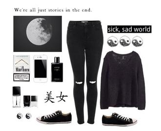 sweater black sweater cardigan black grandpa sweater cara delevingne jeans
