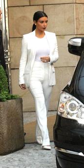 jumpsuit,kim kardashian,honeymoon,jacket,t-shirt,shoes