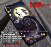 phone cover,jack and sally halloween