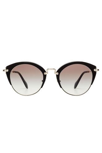 noir sunglasses black