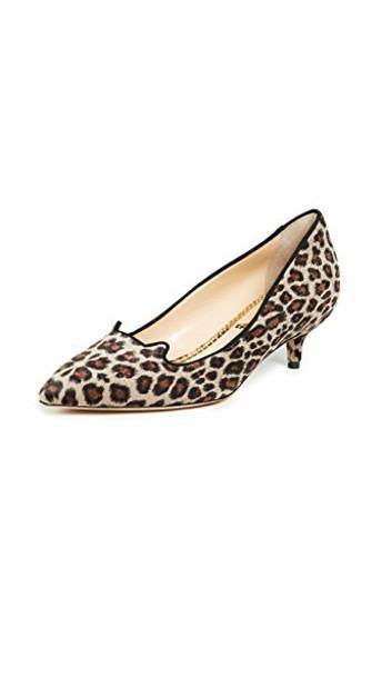 charlotte olympia kitten heels heels shoes