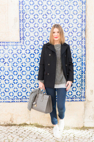 the working girl blogger jeans casual sézane