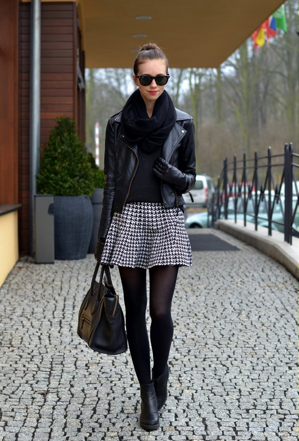 vogue haus sweater skirt jacket shoes bag sunglasses