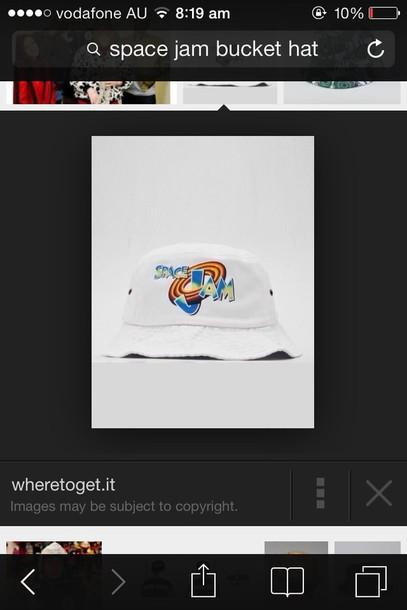 445bc159 76d8b dcc5a; shopping hat bucket hat space jam white retro michael jordan  looney tunes wheretoget 438ff 2599d