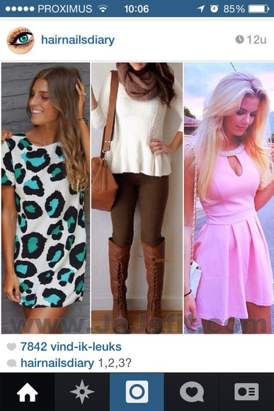 dress fashion top pink pink dress diamonds cute summer dress