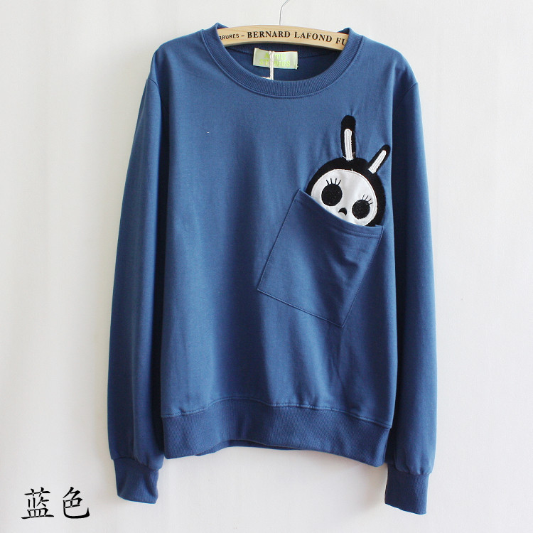Pullover sweater with cute pocket · whitelily fashion · online store powered by storenvy