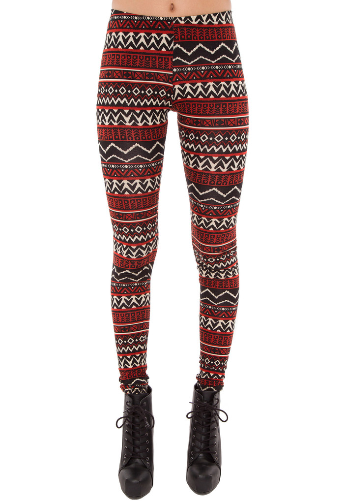 Queen Of The Aztec Leggings