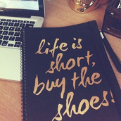 bag,home accessory,black and gold,gold,cute notebook,notebook,quote on it,all black and gold wishlist