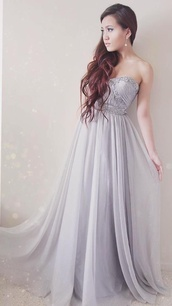 dress,prom dress,ball down,gown,fancy dress,prom,long prom dress,grey dress,maxi dress,prom gown,prom beauty