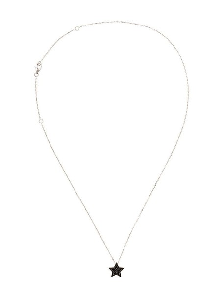 women necklace pendant gold white jewels