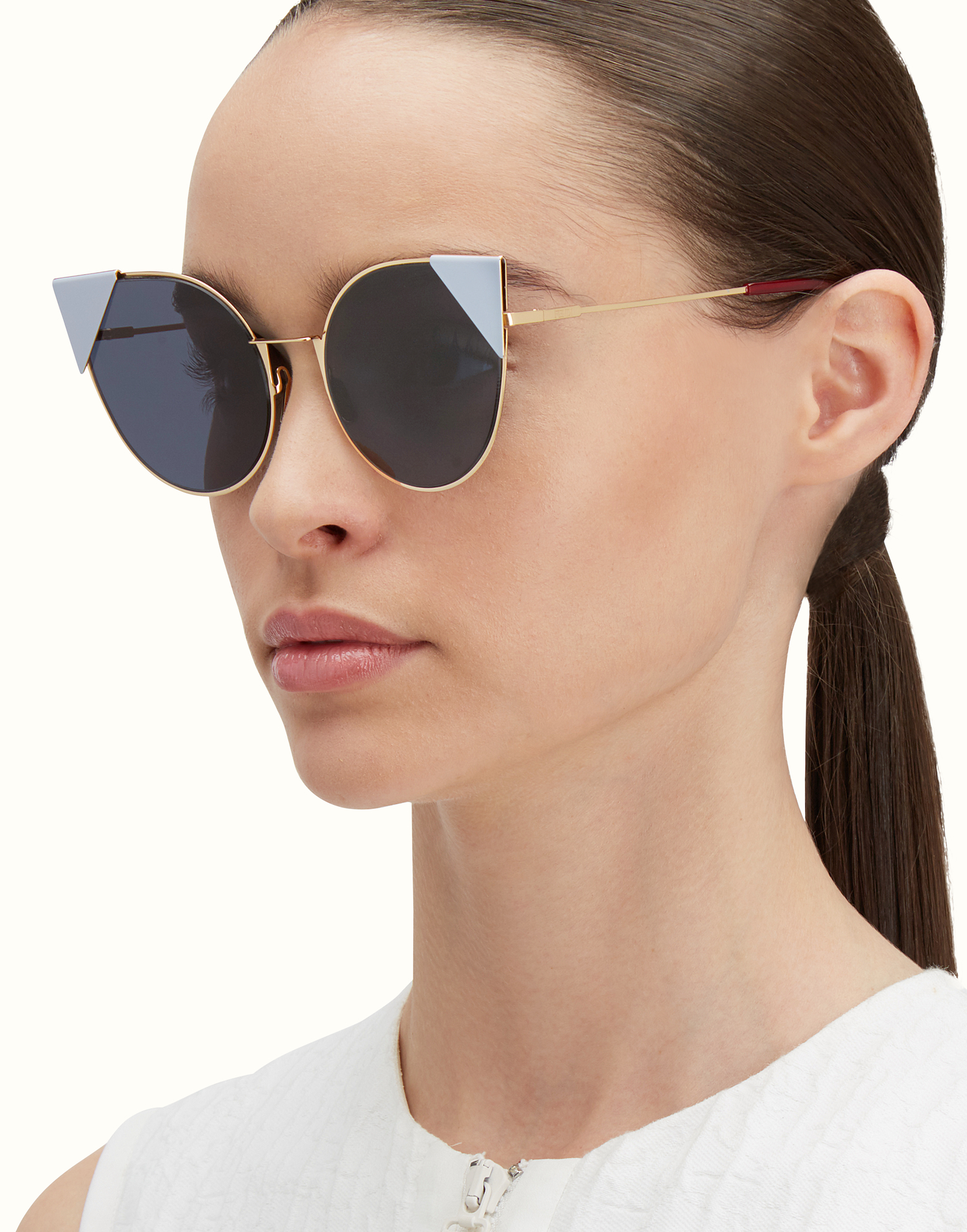 de716448bfa1 Fendi Metallic Pink Sunglasses