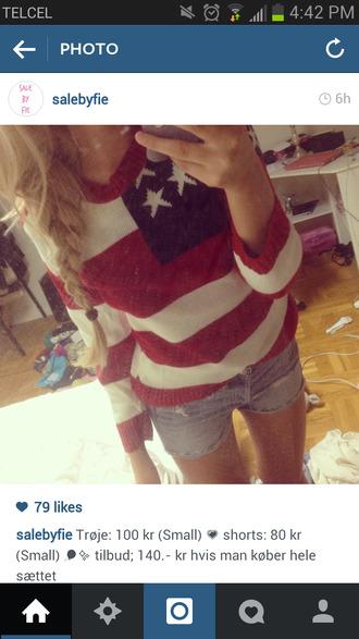 stars july 4th american american flag cozy