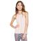 Cactus cropped high neck tank by michael lauren