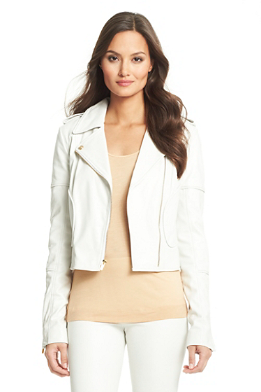 Theodora Leather Jacket | Clothing by DVF