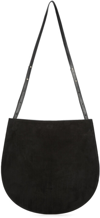 bag suede black