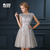 Aliexpress.com : Buy ANN DEER Real Photos A Line O Neck Evening Dress Robe De Soiree Courte Evening Party Gowns Formal Dresses T402 from Reliable dress italian suppliers on Ann Deer