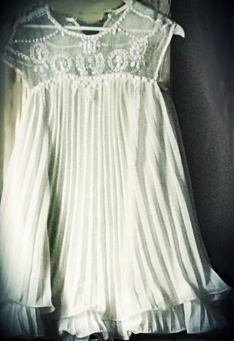 cute dress white dress pleated dress pleated homecoming dress short dress short homecoming dress