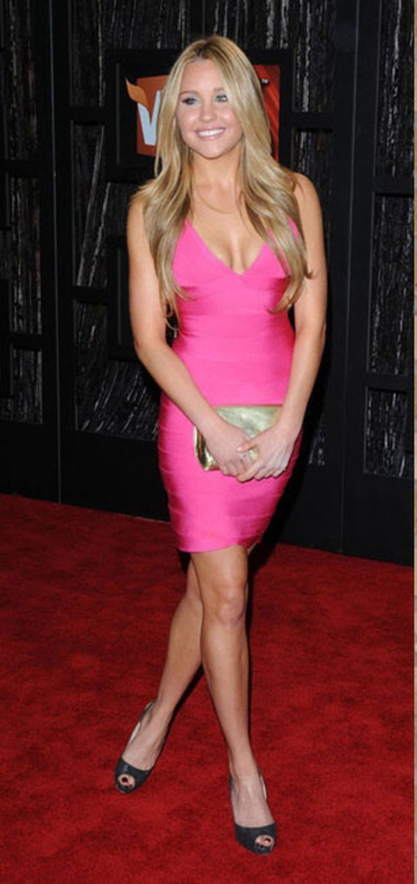 dress bandage dress pink dress bandage dress celebrity style