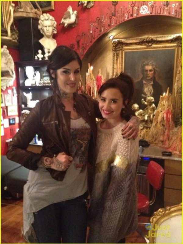 sweater demi lovato oversized sweater gold