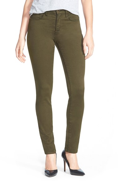NYDJ Alina Colored Stretch Skinny Jeans (Regular & Petite) | Nordstrom