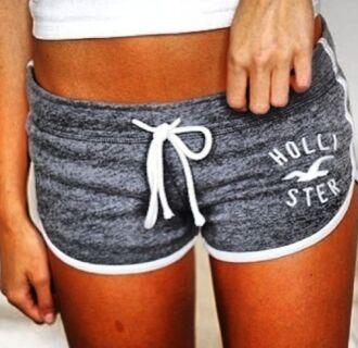 shorts hollister grey sweatpants sportswear sporty clothes