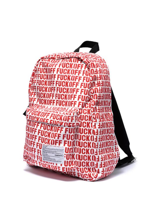 bag fuck off backpack