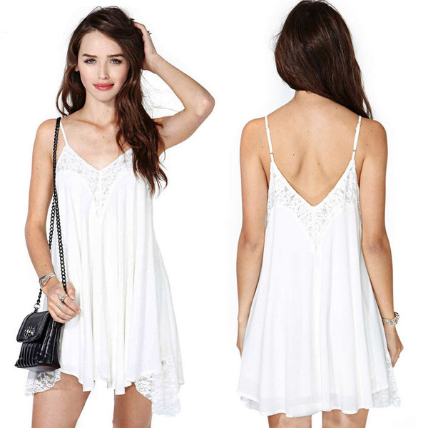 Mia Lace Fringe Dress