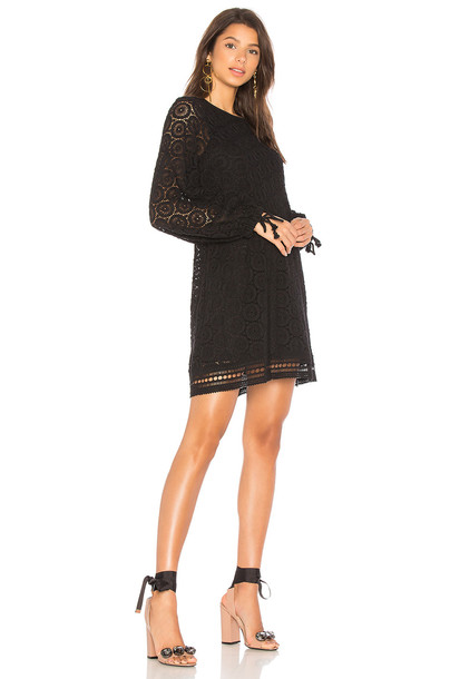 See by Chloe dress lace dress lace black