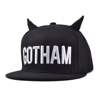 hat black cool gotham fashion streetwear teenagers cap boogzel