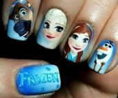 nail accessories,disney's frozen