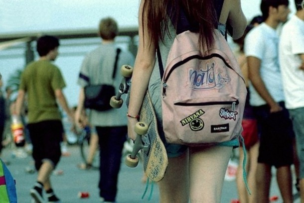 Skater Girl Backpacks - Backpack Her
